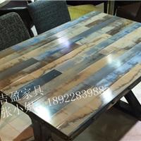 供应龙华清湖瓷砖餐桌,主题餐厅桌子定做