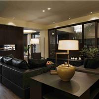 古典风格别墅安装啡色橡木实木复合地板
