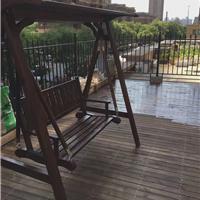 沈阳防腐木批发,凉亭,碳化木,摇椅,