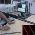深圳凤鸣亮科技非接触纸板纸张激光在线测厚仪