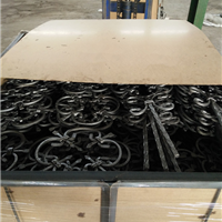 铁艺锻造件 楼梯配件 铁艺立杆 铁艺铸钢件