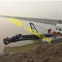 东营黄河口清淤600马力绞吸式挖泥船下水
