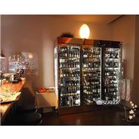 别墅不锈钢红酒柜 餐厅酒柜 红酒冷藏柜