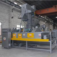 铸造件表面处理喷砂机 红福海通过式抛丸机