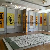 书画览展板 美术馆作品展板 书法活动展板