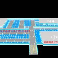 停车场鸟瞰3D效果图设计北京上海天津重庆