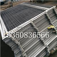 1.8米高的扁铁框网方管柱网价格