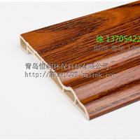 竹木纤维墙板 配套装饰线条 100 踢脚线