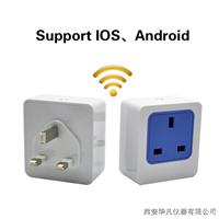 供应wifi智能英标插座APP远程控制插座