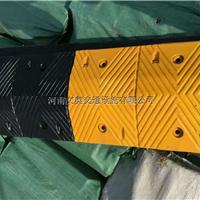 供应河南郑州耐压耐用橡胶减速带厂家直销