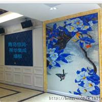 青岛厂家供应竹木纤维3D壁画,墙板