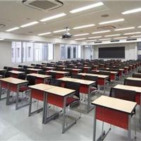 供应学生课桌椅定制 学生学习培训会议条桌