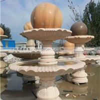风水球雕塑 大理石风水球雕塑