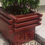 厂家供应实木质、防腐木花箱