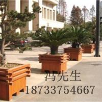 供应实木防腐木花箱、种类齐全,内蒙古花箱