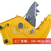 挖掘机液压钳制造厂家 拆迁大钢牙供应