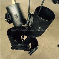供应w型柔性铸铁管件-100检查口价格