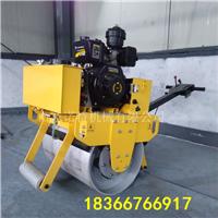 单钢轮震动压路机价格 小型手扶压土机厂家
