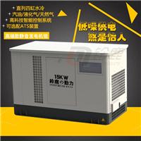 供应水冷静音15KW汽油发电机