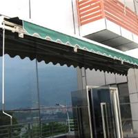 供应雨篷伸缩篷铝臂方管雨篷户外停车遮阳棚