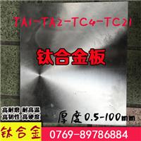 供应TC4钛合金性能介绍,TC4钛合金成分介绍