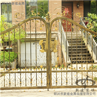 铁艺大门私人别墅厂家直销防锈铁艺镀锌大门