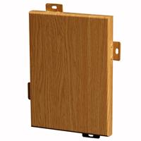 仿真木纹铝板_橡木木纹铝单板幕墙