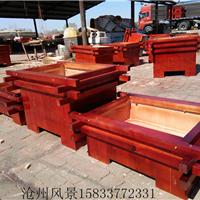 木质花箱厂家 木质组合花箱 实木花箱厂家