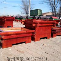 河南木质花箱组合厂家 河南公园实木花箱