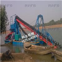 沙金矿设备、河道金矿开采机械、河沙采金船