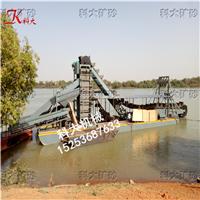 河道选砂金设备、水上淘金机械、河沙淘金船