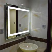LED灯镜浴室镜防雾镜卫生间无框壁挂镜