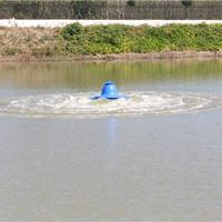 供应三相单相鱼塘虾塘涌浪式推浪式增氧机