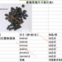 厂价销售幕墙石材填缝调平塑料黑垫片