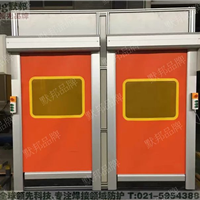 专业高品质焊接快速门,焊接机器人防护门
