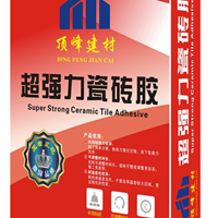 供应顶峰瓷砖胶订制