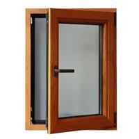 德式IV68系列铝包木门窗