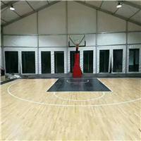 上海体育馆木地板 专用篮球场地板