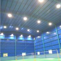 真正的羽毛球场灯