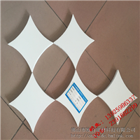 双曲面刨花木纹铝单板,氟碳幕墙双曲铝单板设计定制