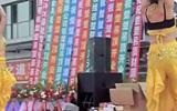 迁西汪洋演艺,楚楚吊顶开业。印度舞。2014.10.18下午