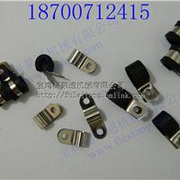 供应北京6mm电缆连胶条R型固定卡子