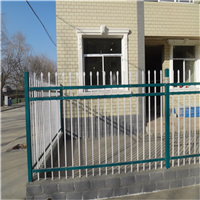 供应别墅小区围墙铁艺 锌钢镀锌方管