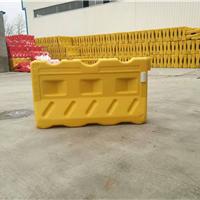 供应山东吹塑水马防撞桶,塑料施工水马厂家