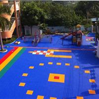 供应篮球场地用运动地板悬浮拼装地板