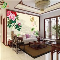 客厅电视背景墙 家和富贵 诚招阳泉经销商加盟