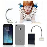 便携式太阳能书灯LED迷你学生台灯 USB