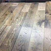 橡木实木地板自然做旧18*150*1820监弗油漆