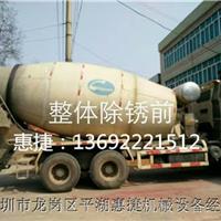 水泥罐车除锈翻新喷砂机 去水泥浆块喷砂机
