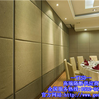 潍坊宴会厅活动隔断墙装修,提高空间利用效率